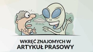 Oniet - Generator internetowych żartów i śmiesznych informacji prasowych 3