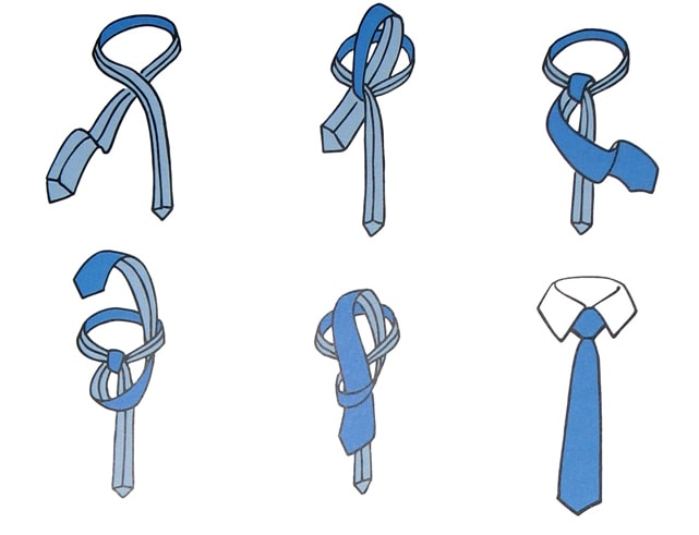 How to tie a tie?  6 ways to tie a tie  american knot