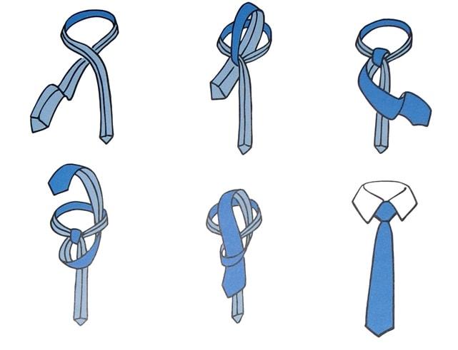 Jak zawiązać krawat? 6 sposobów wiązania krawata 4
