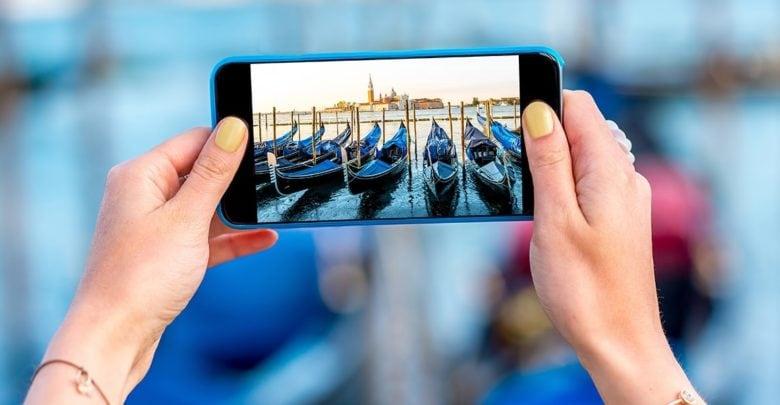 robienie zdjęć smartfonem